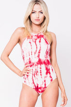TIE DYE SLEEVELESS BODYSUIT