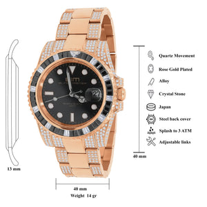 SONAR Steel CZ Watch | 5303416