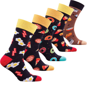 Men's Fast Food Socks