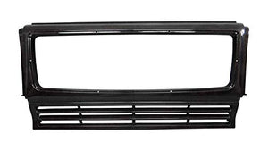 G Wagon Brabus Style - W463 Carbon Fiber Front Grille Frame - Grill Trim - for W463 Mercedes Benz G Class Vehicles