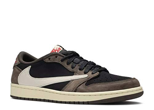 Jordan Air 1 Low (Black/Sail-Dark Mocha/Universi 11)