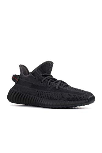 "adidas Mens Yeezy Boost 350""Black Non Reflective Black Fabric Size 12"