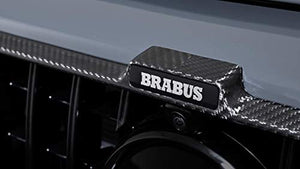 kit-car G Wagon Brabus Style Front Grille Frame Insert G63 AMG - Carbon Fiber Front Grill Trim - for W464 W463A G Class Mercedes Benz 2018 2019 2020 +