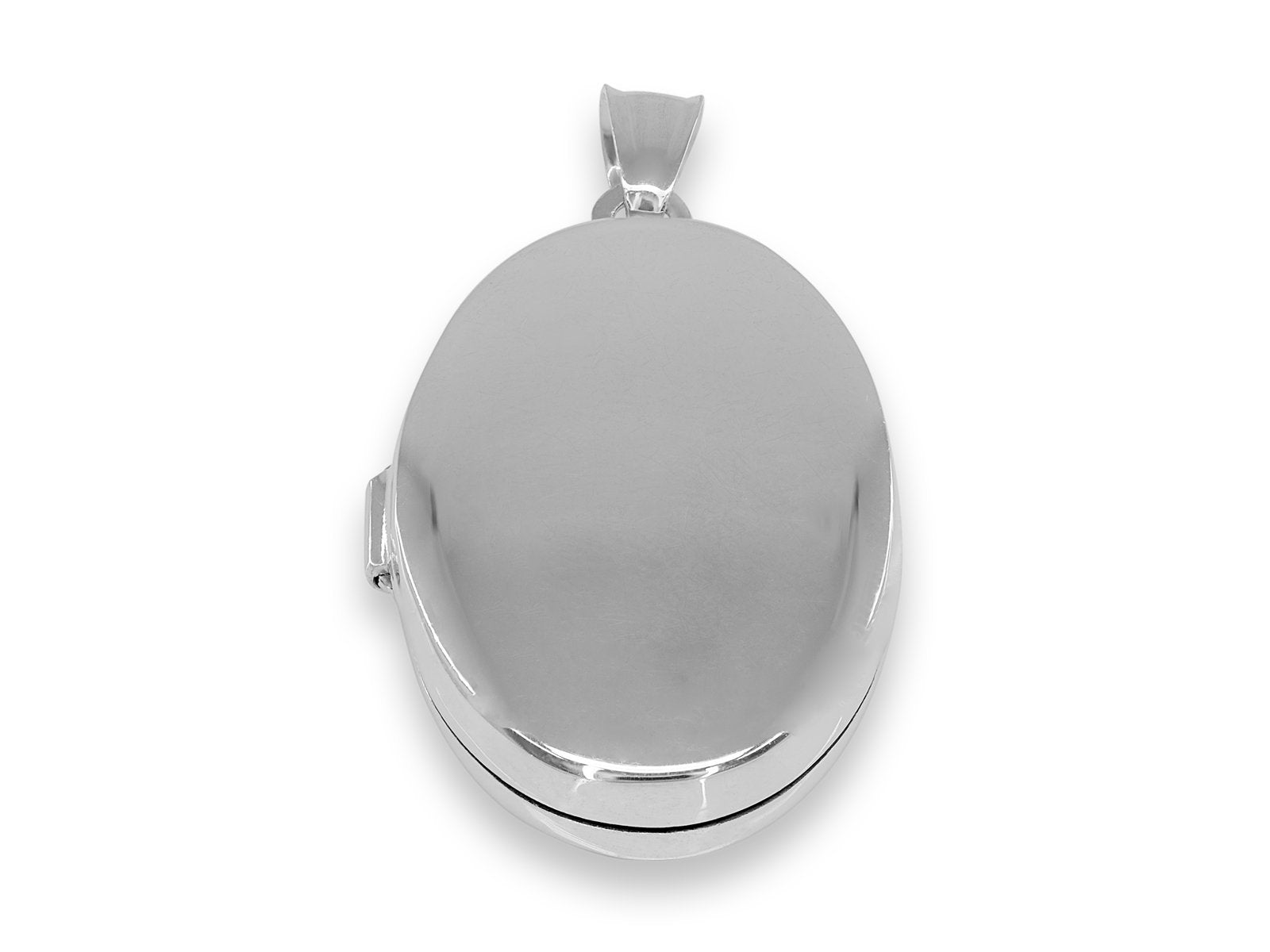 Oval Picture Locket Pendant
