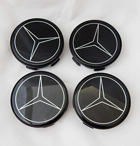 LB Forged Mercedes Floating Wheel Caps