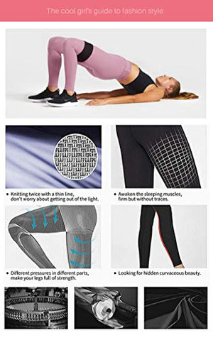 CAMPSNAIL Plus Size High Waisted Leggings for Women Yoga Pants Seamless Capri Leggings Compression Workout Printed Leggings