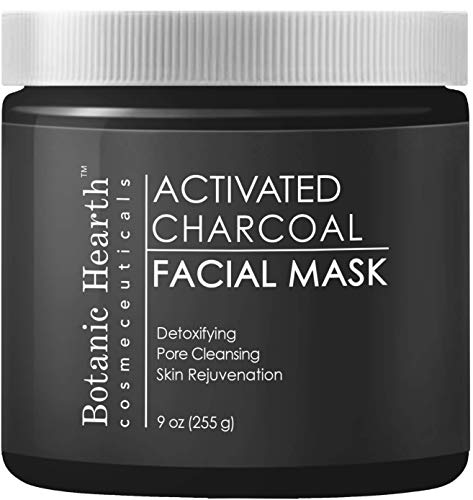Botanic Hearth Charcoal Facial Mask, Pore Minimizer, Deep Cleansing 9 oz