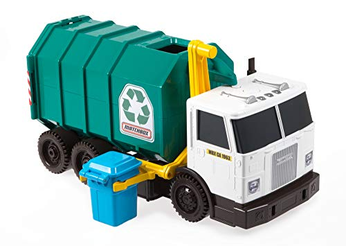 "Matchbox Garbage Truck 15"" Large Scale, Sound FX Matchbox"