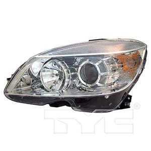 KarParts360: For 2008 2009 2010 2011 Mercedes-Benz C300 Headlight Assembly w/Bulbs Driver and Passenger Side Replaces MB2502163 CAPA Certified MB2503163