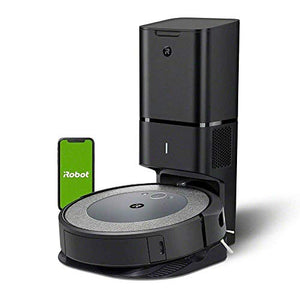 iRobot Roomba i3+ (3550) Robot Vacuum with Automatic Dirt Disposal Disposal - Empties Itself, Wi-Fi Connected Mapping, Works with Alexa, Ideal for Pet Hair, Carpets