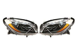 Left & Right Genuine Bi-Xenon Headlights Lamps Pair Set For MB W166 ML250 ML350