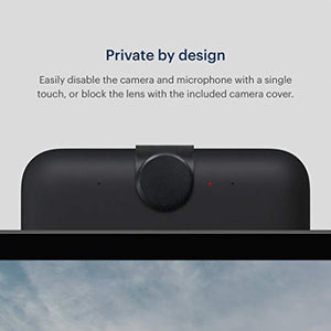 "Facebook Portal Plus - Smart Video Calling 15.6"" Touch Screen Display with Alexa - Black"