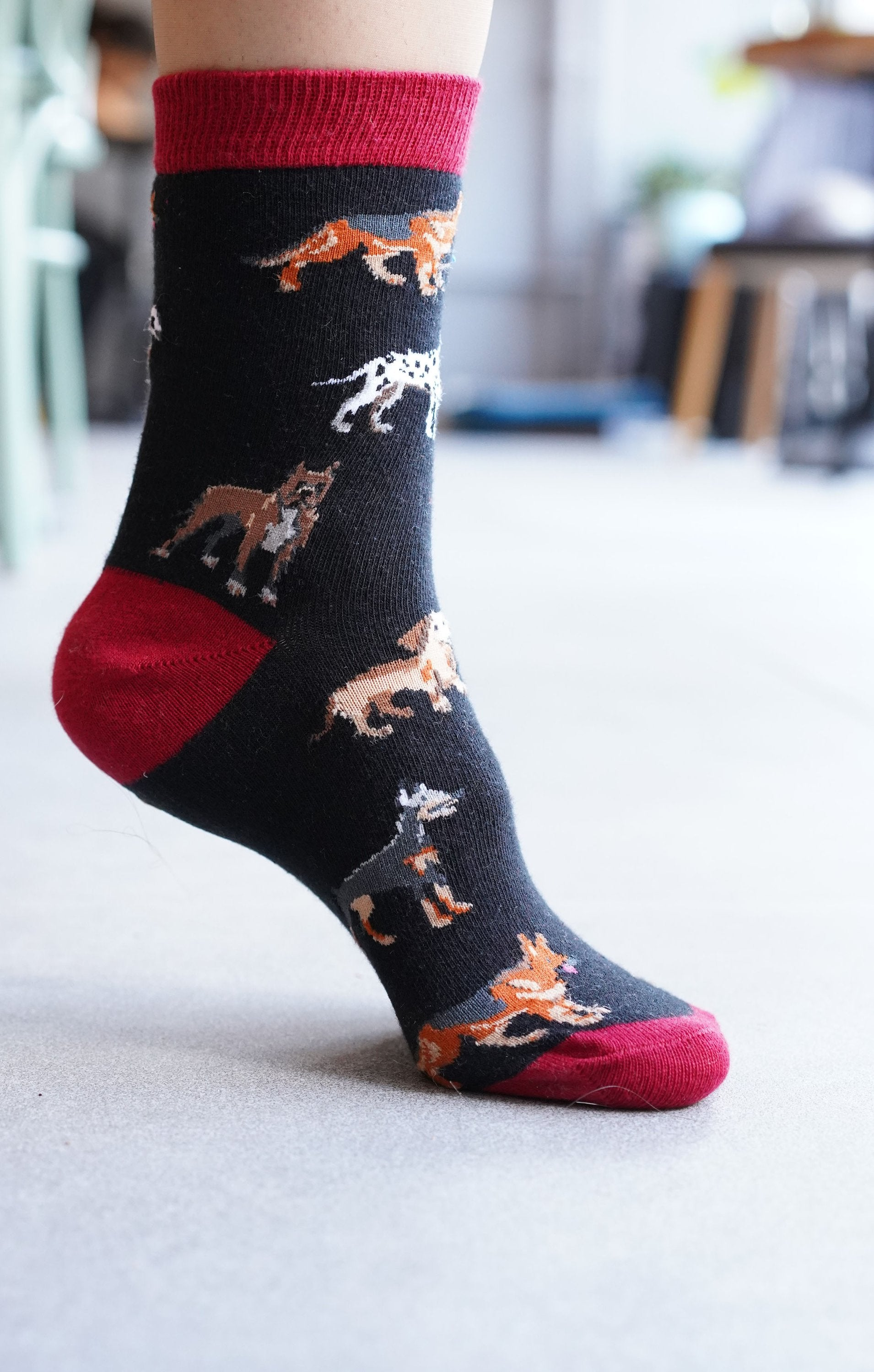 Women's Dog Species Socks