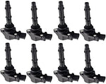 ENA Pack of 8 Ignition Coils Compatible with Mercedes-Benz C230 C350 CL550 2007-2008 Dodge Sprinter 2500 3500 5.5L V6 V8