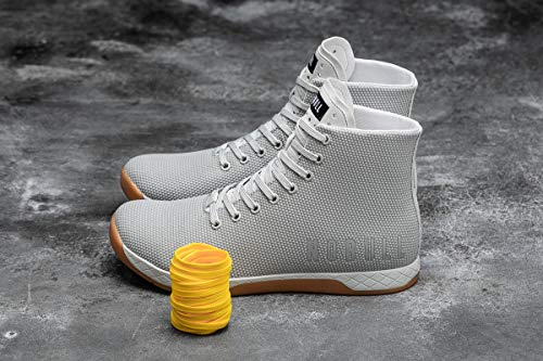 NOBULL Women's High-Top Arctic Gum Trainer 6.5 US