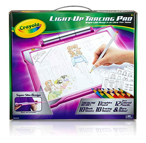 Crayola Light Up Tracing Pad Pink, Toys for Kids, Gift for Girls & Boys, Age 6+