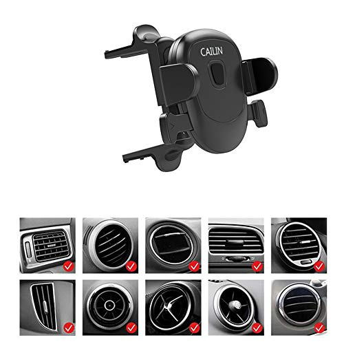 Car Phone Mount,Applicable Mercedes-Benz Mobile Phone Holder e c-Class gla200glc260c260e300a200l,Audi A3 Q2,Ford Mustang,Volkswagen Tiguan Mobile Phone Bracket (Black1)
