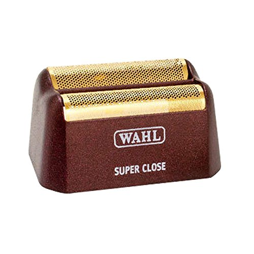 Wahl Replacement Shaving Head & Cutter Blades with Hypo-Allergenic Silver Foil Head with Bump Prevent Technology, Detaches Easily for Cleaning and Sanitation Replacement Shaving Head with Hypo-Allergenic Gold Foil Head with Bump Prevent Technology, Detach
