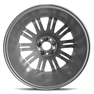 Road Ready Car Wheel For 2007-2009 Mercedes -Benz E-Class 18 Inch 5 Lug Silver Aluminum Rim Fits R18 Tire - Exact OEM Replacement - Full-Size Spare