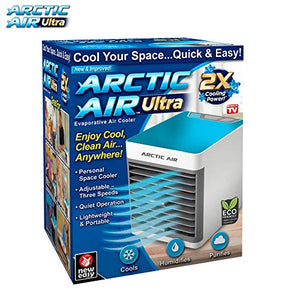 Ontel Arctic Ultra Evaporative Portable Air Conditioner Purifier & Personal Space Cooler-As Seen on TV