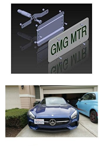 Mercedes Benz AMG GT/GT S/GT R Models NO Holes License Plate Bracket