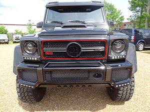 G Wagon Front Grille Center Piece Carbon Fiber - Grill Center Cover for Mercedes-Benz G-Class W463 G63 AMG G65 AMG