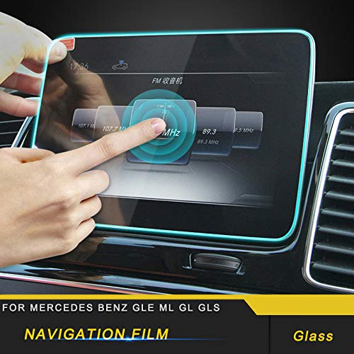 BOOBOOBM for Mercedes Benz GLE ML GL GLS,Car Navigation Screen Monitor Protective Film Cover Trim Sticker Interior Accessories