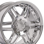 18x9.5 Wheel Fits Mercedes Benz C E S Class SLK CLK CLS - ET38 Split Spoke Chrome Rim