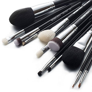 Makeup Brushes 12pcs Professional Cosmetic Brushes,Eigshow Limited Edition Foundation Powder Contour Blush Cosmetic Eye Brush Sets With Luxury Cosmetic Bag