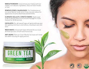 Teami Face Mask and Scrub - Our Facial Scrubs Exfoliate, Hydrate, Moisturize All Skin Types (Glow Kit w/Bonus Headband)
