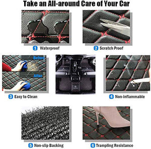 Car Floor Mats Trunk mats for Mercedes Benz E-Class G-Class GLA-Class GLC-Class GL-Class GLE-Class GLK-Class Sedan Coupe Wagon Hatch 1994-2021 All Weather Leather Non-Slip Fully Surrounded Waterproof