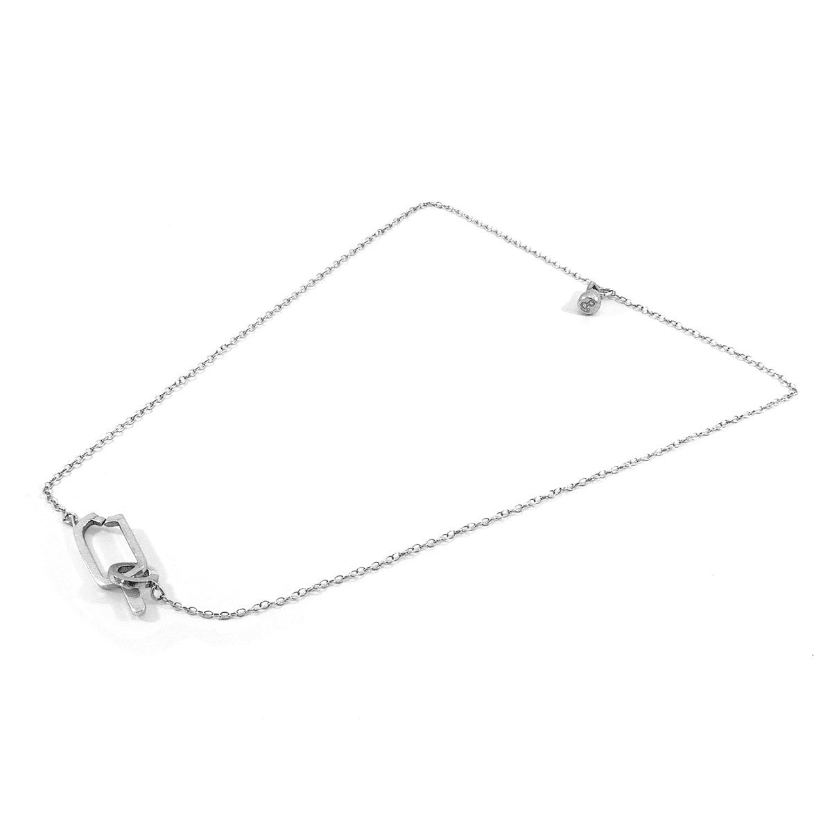 Ice Lolly Link Paradise Silver Necklace Pendant