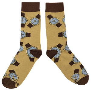 Gold Watch Socks