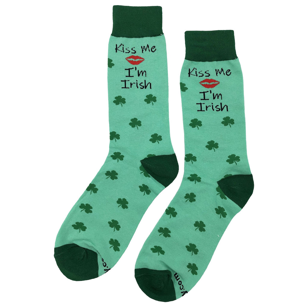 Kiss Me I'm Irish Socks