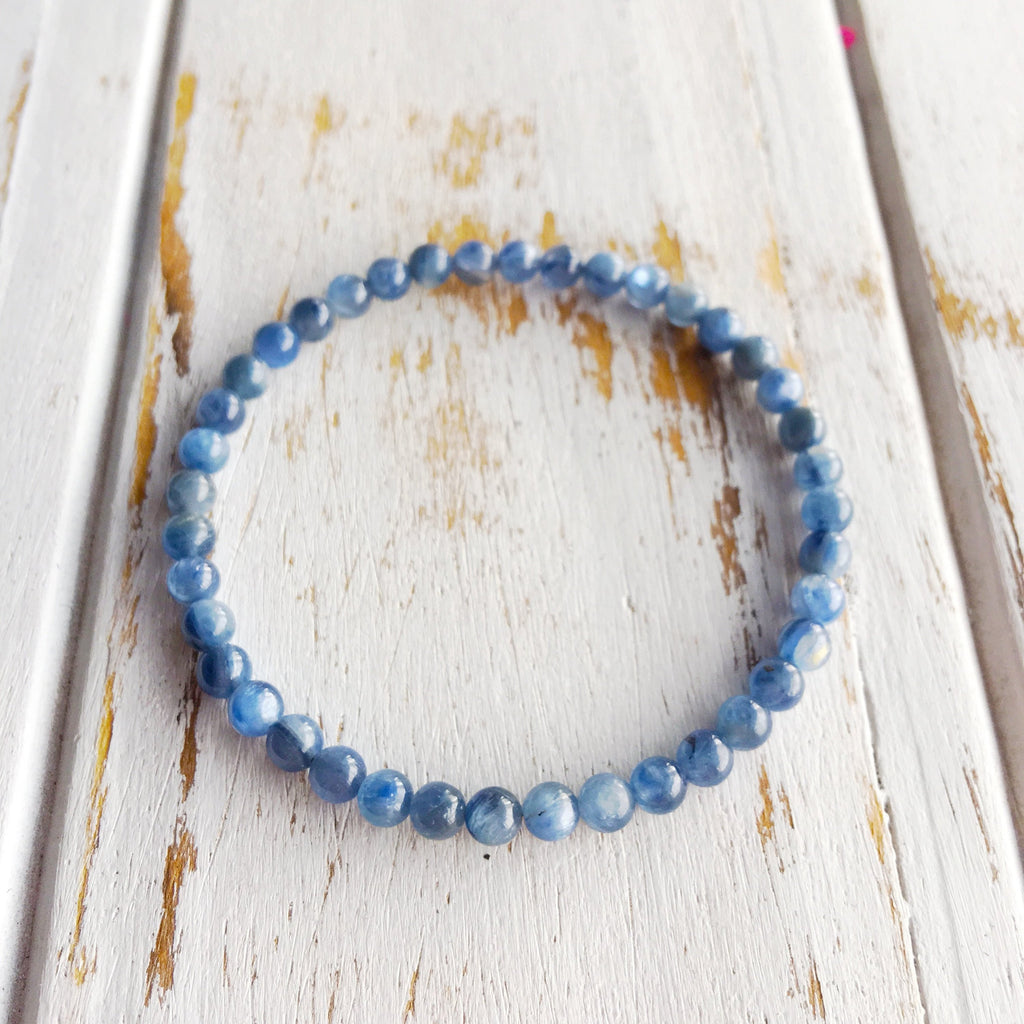 6mm Blue Kyanite Bracelet