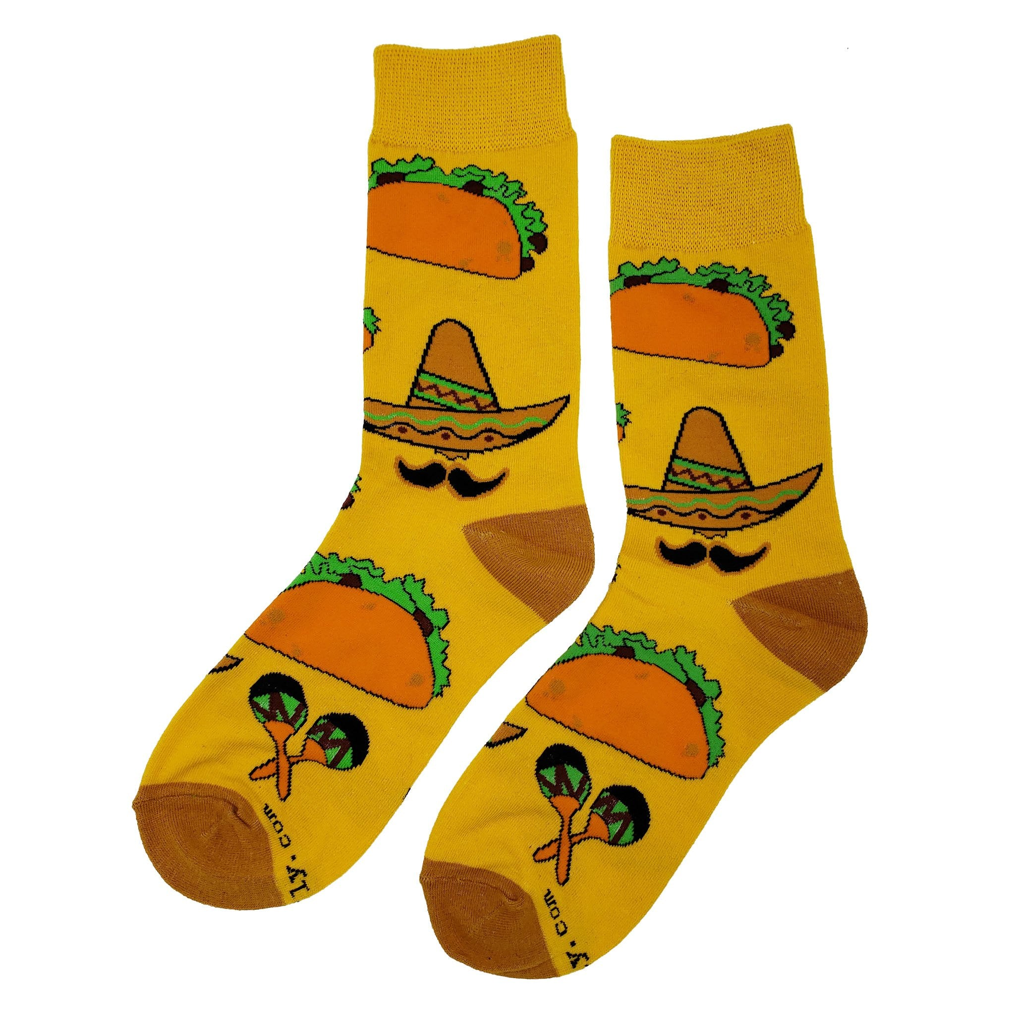 Taco Party Socks