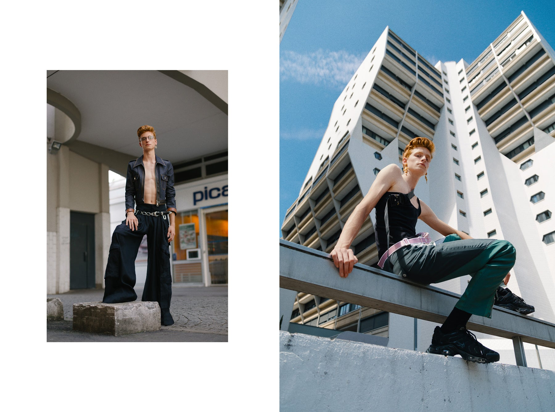​Fucking Young shot by Simonas Berukstis, Styled by Vy Cutting, Nathan Moy, Models - Simon, Alexis and Victor (Another Spiecies)