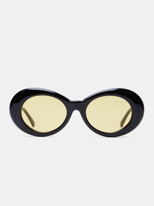 Alien Black Yellow Sunglasses