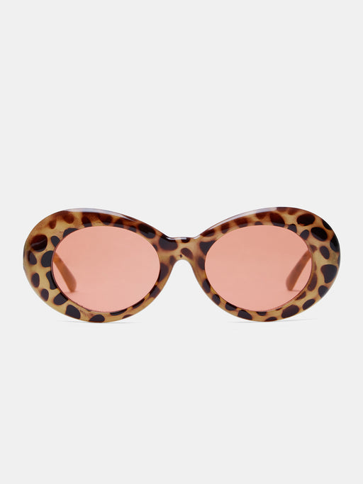 Alien Tortoise Red Sunglasses