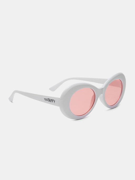 Alien White Sunglasses