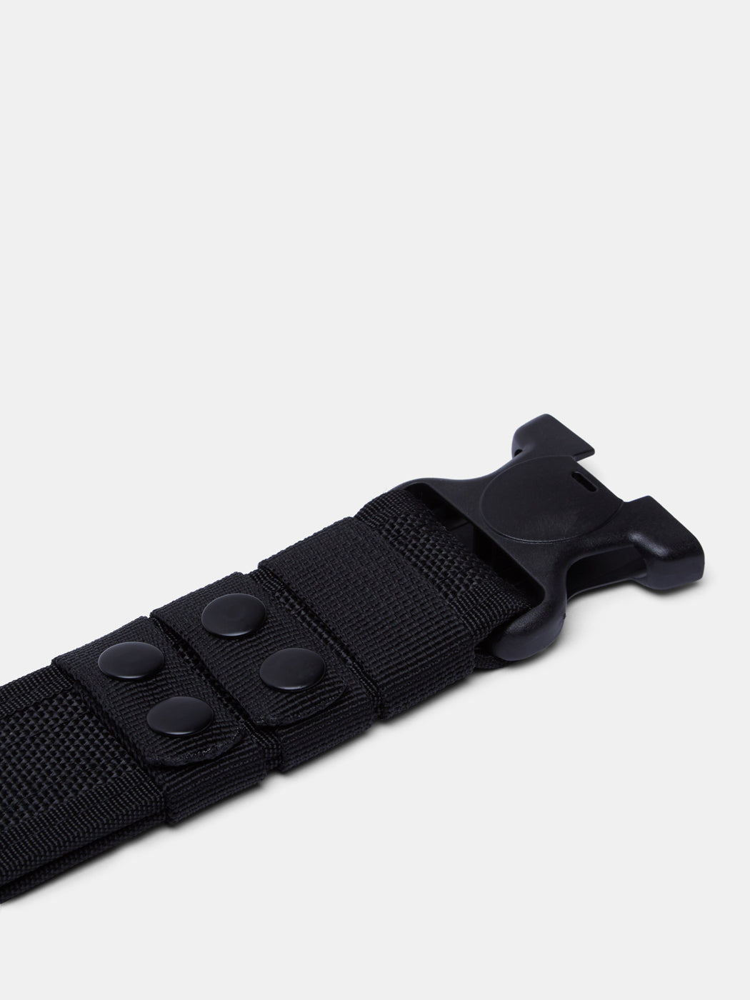 Black Bless-The-Police Belt