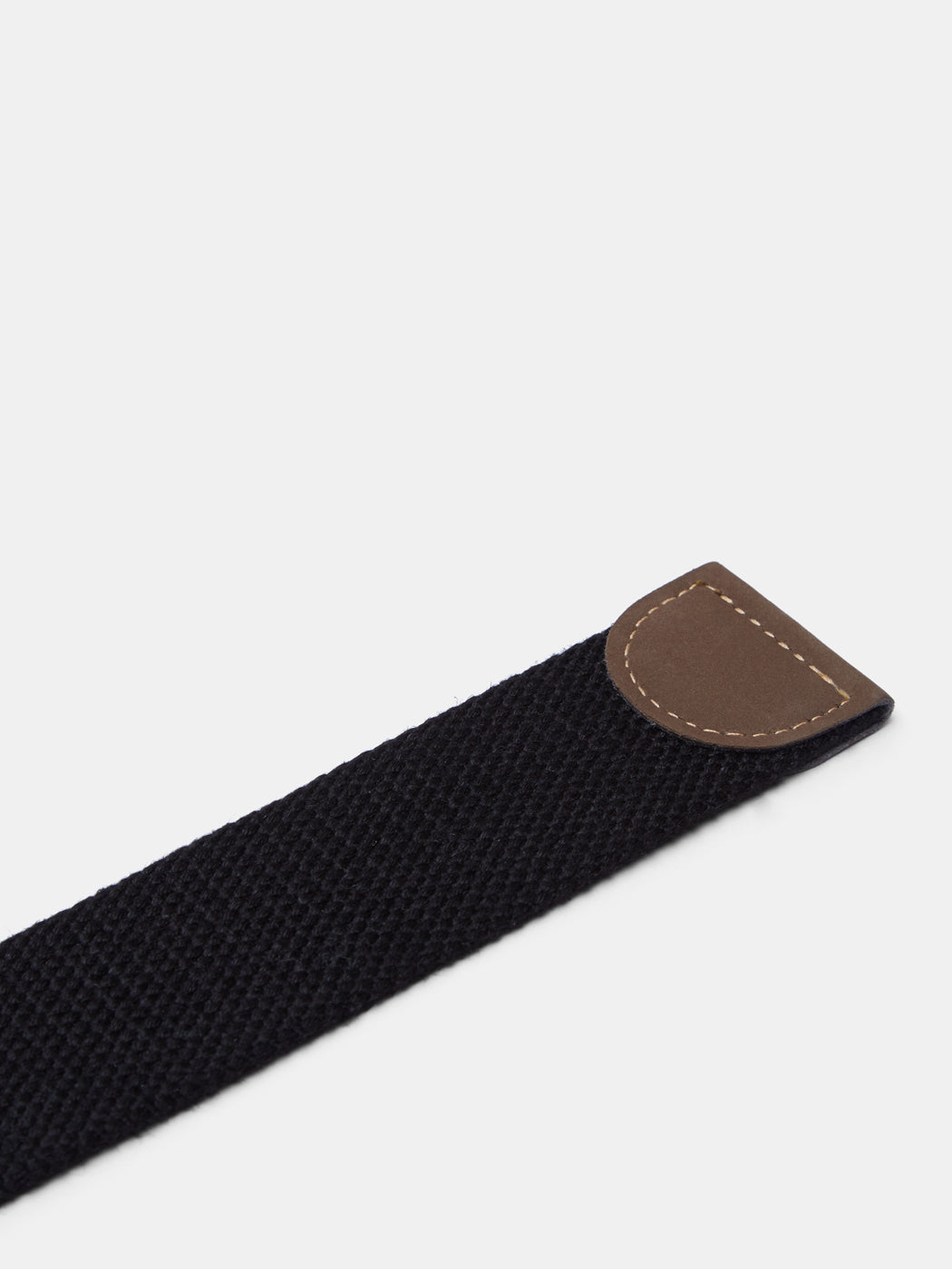 Black McClane Canvas Belt