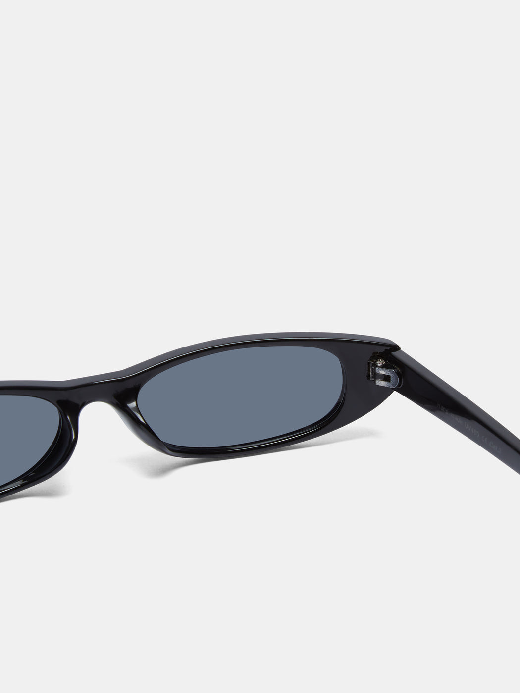 Black Narrow-S Sunglasses