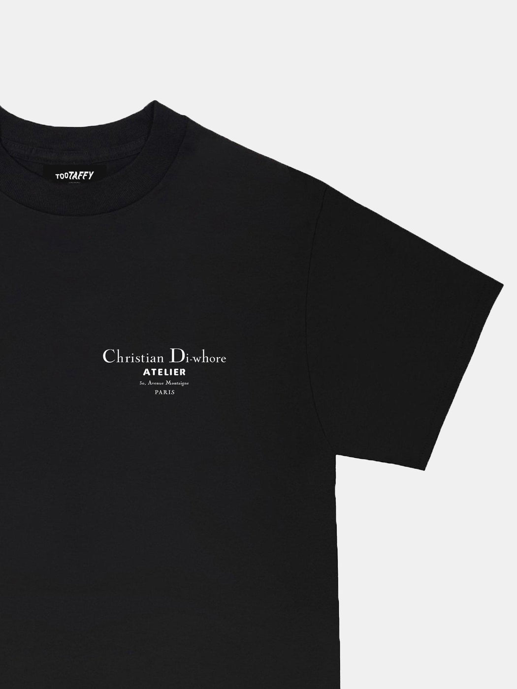 Black Christian Di-whore T-shirt