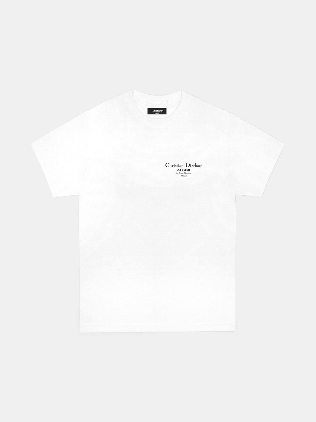 Christian Di-whore White T-shirt
