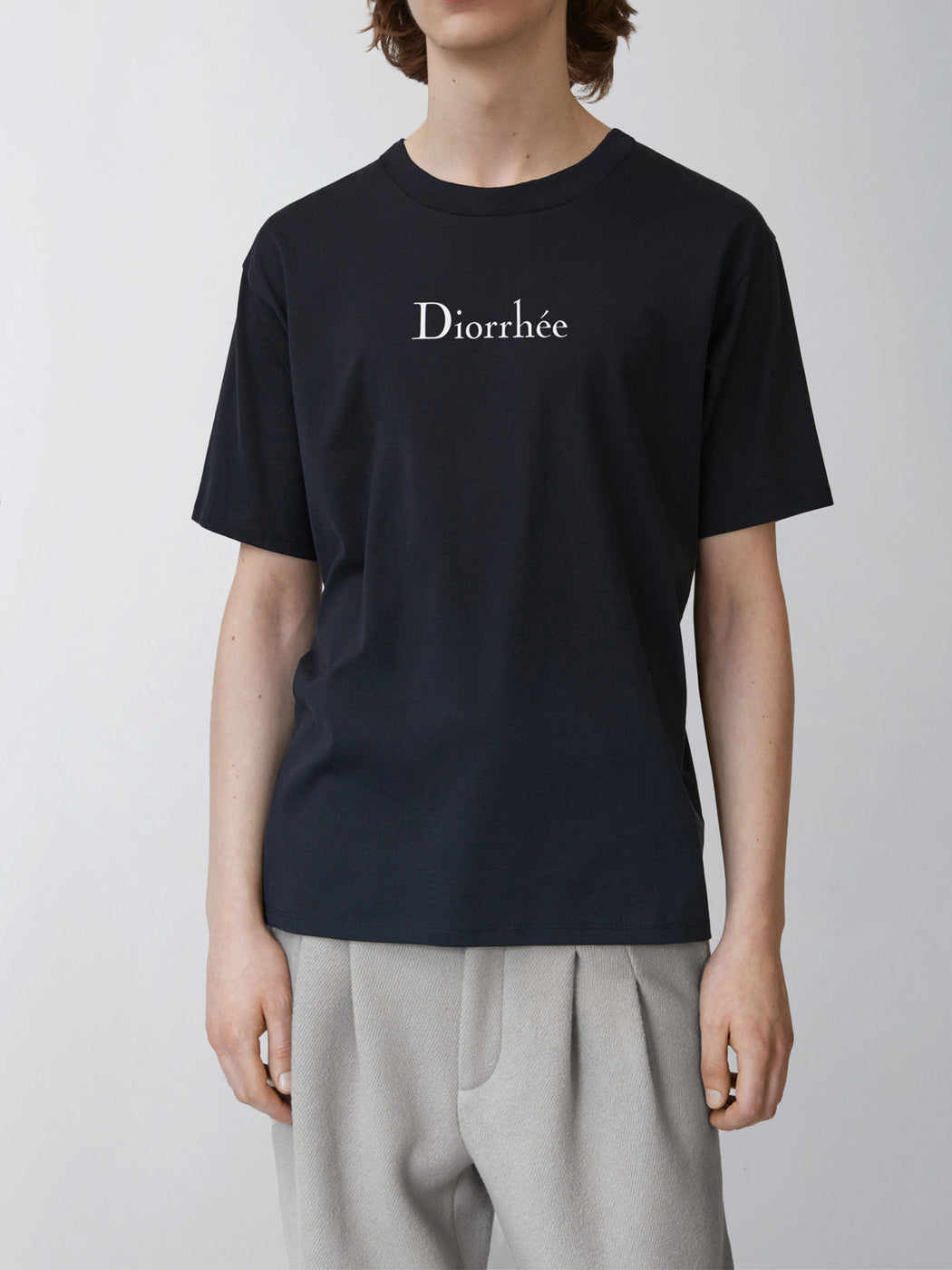 Black Diorrhée T-shirt