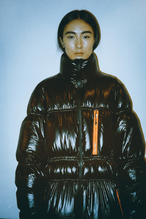 Down feather Puffer Coat