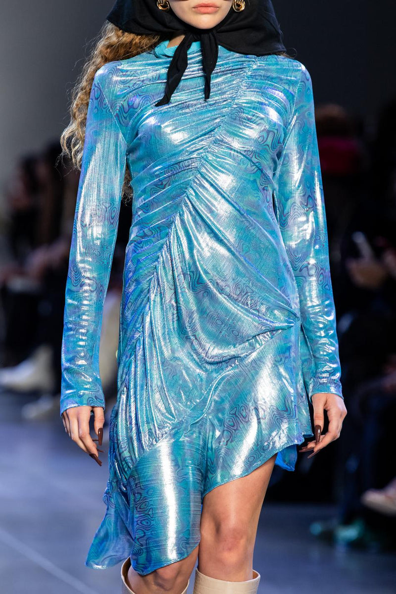 Metallic Stretch Dress