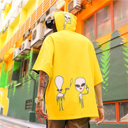 Alien - Hooded T-Shirt - DISXENT