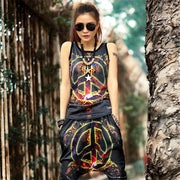 """Peace"" Top And Pants - DISXENT"